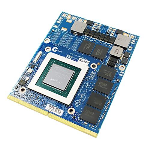 Remplacement de la Carte Graphique MXM 6 Go, pour NVIDIA GeForce GTX 970M, pour Ordinateur Portable de Jeu for MSI Clevo P150EM P150SM P170EM P370EM P570WM P750 P770ZM P870DM, N16E-GT-A1 GDDR5