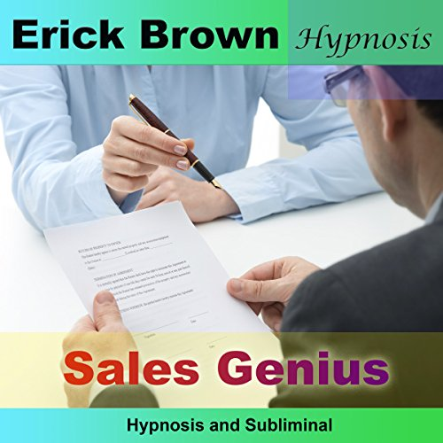 Sales Genius audiobook cover art