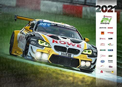 Offizieller Kalender 2021 - Kalender zum 24h Rennen am Nürburgring: 24 Stunden Nürburgring-Nordschleife