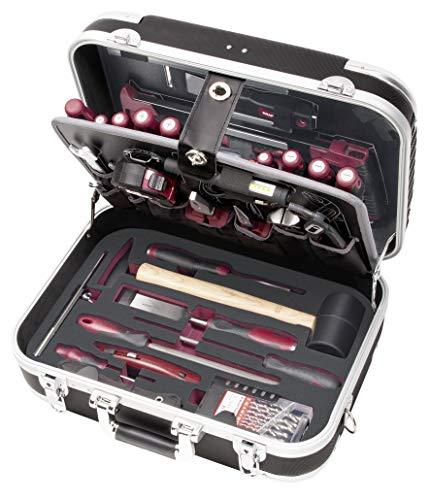 B140 Werkzeugkoffer für Schreiner, ABS, 112 Teile