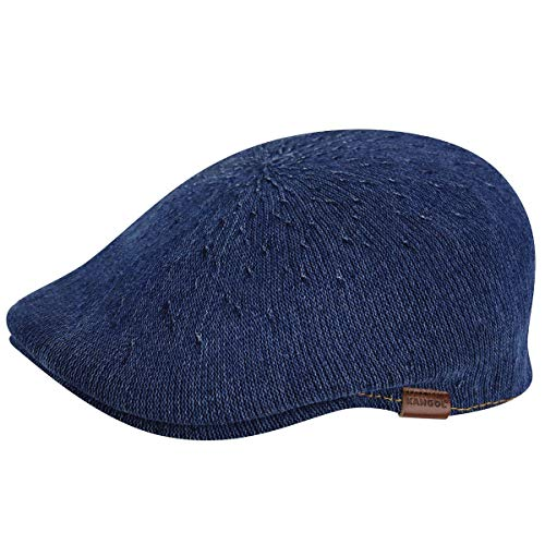 Kangol 507 Boina, Azul (Indigo Wash), Large para Hombre