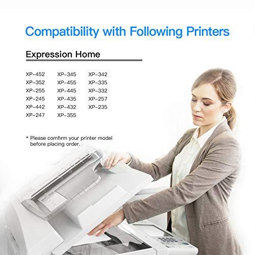 LxTek Compatible para Epson 29 29XL Cartuchos de tinta para Epson Expression Home XP-235 XP-245 XP-247 XP-255 XP-342 XP-332 XP-335 XP-345 XP-355 XP-352 XP-432 XP-435 XP-442 XP-445