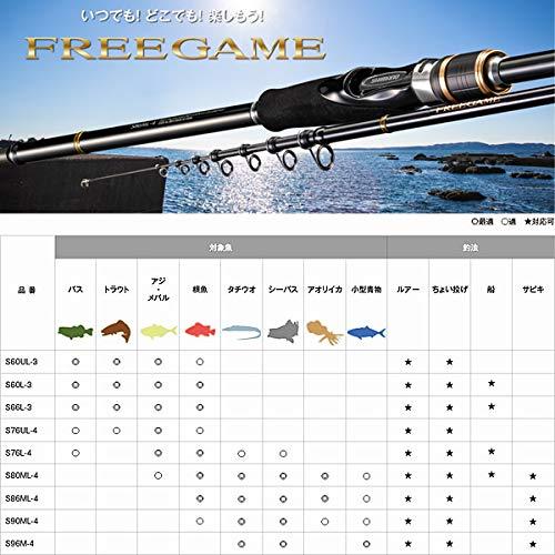 シマノ『フリーゲームS60L-3』