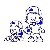 Babyaufkleber Kinderaufkleber mit eigenem Spruch Wunschtext GM-81