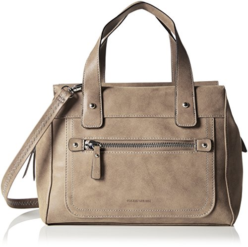 Gerry Weber Damen Best Friend Handbag M Henkeltaschen, Grau (Grey 800), 30x17x25 cm