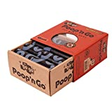 GoGo Pet Products Poop 'n Go Waste Bags (16 Rolls/240 Bags Per Box), Refreshing Citrus Scent, Black, Large
