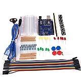 Kit de Inicio Kit 13 en 1 Kit Principal Compatible con Uno R3 para Arduino (empaquetado)