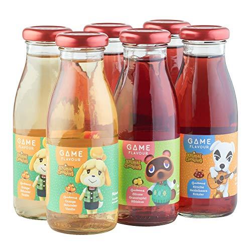Game Flavor: Animal Crossing - gemischt, 6 x 250 ml