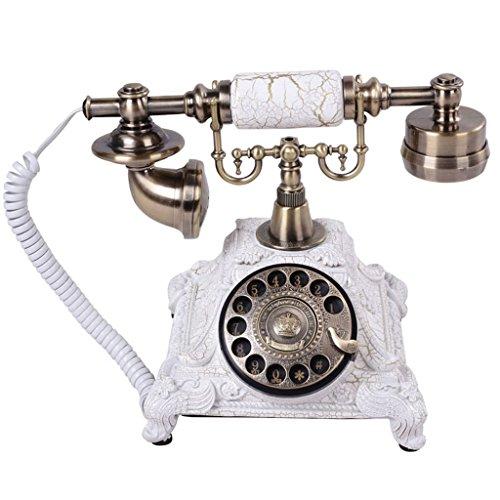 Teléfonos VOIP Personalidad de la Moda clásica teléfonos Antiguos de época Retro Europeos de telefonía Fija del Pedestal Oficina en casa Teléfono Retro