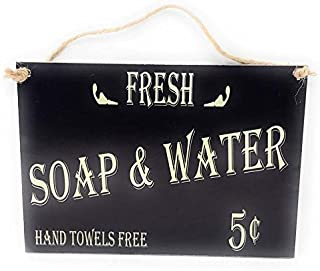 tiggermall Fresh Soap & Water 5 Cents Hand Towels Free 7