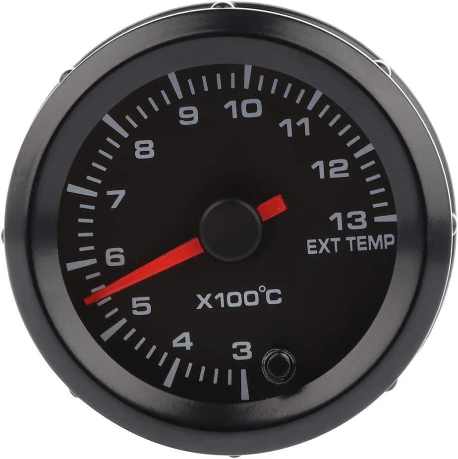 LUJUNTEC Max 85% OFF Car Motor Gauge Universal Temperature EXT 52mm Ga shipfree 2inch