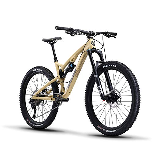 "Diamondback Bicycles Release 3 Full Suspension Mountain Bike, 19""/Large, Tan"