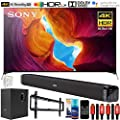 "Sony X950H 85"" 4K Ultra HD LED Smart TV (2020) Deco Soundbar & Subwoofer Bundle"