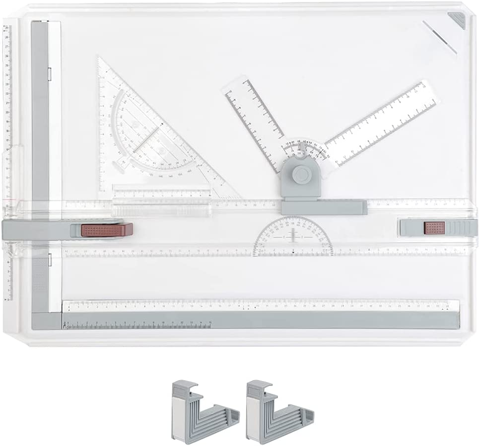 WOWOSS A3 Drawing Board Multifunctional Manufacturer direct delivery Drafting Rapid rise Table