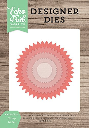 Echo Park Paper Company Pinked Kreis Nistkasten sterben Set