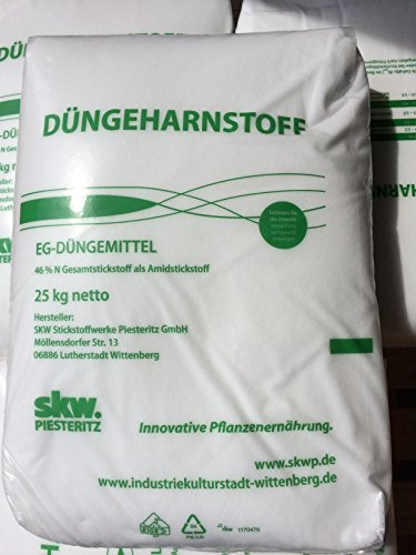 Düngeharnstoff 25 kg Harnstoffdünger Harnstoff 46 N Stickstoff UREA spritzfähig
