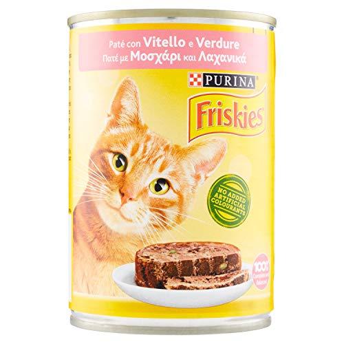 FRISKIES 400 gr. umido patè vitello/verdure - Katzenfutter