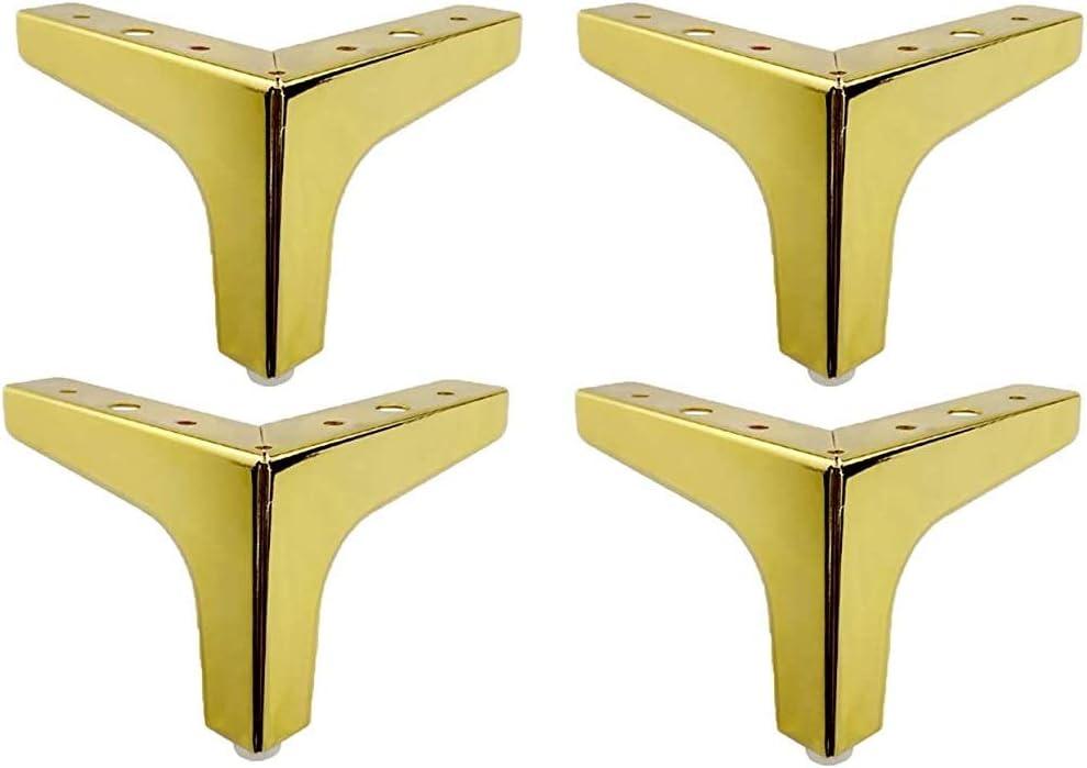 MLHpeak Metal Furniture Legs Polishing Sofa 5 ☆ very popular Triangle mart Black