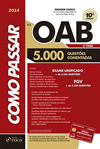 Como Passar na OAB. 5.000 Questões