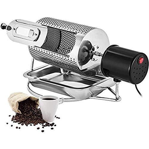 HUIXINLIANG Haushaltskaffee-Röster-Kaffee-Röster-Maschine, Rollenkaffee-Bohnen-Röstmaschine Röstwerkzeugmaschine, für den Heimgebrauch gemacht von 304 Lebensmittelqualität Edelstahl (110V / 220V)