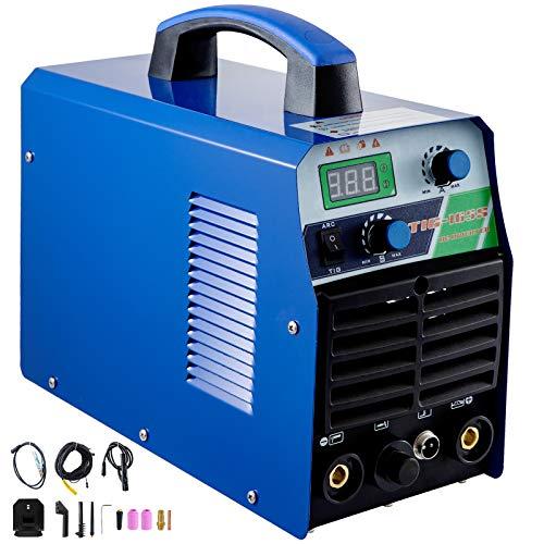 Mophorn Tig Welder 140 Amp Tig Stick Welder 110V 220V Dual Voltage Portable Tig...