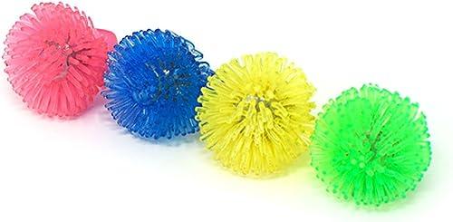 Packungen mit 96 Flashing Led Multi ColGoldt Porcupine Jelly Style Ringe für Parteien Party Favor Kostüme Raves Geschenk Taschen Leuchten Finger Farn Spielzeug glühenden Erwachsenen Kind Spaß