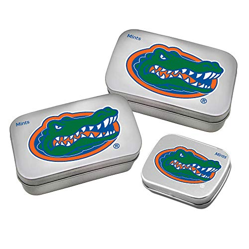 Worthy Promotional NCAA Florida Gators Decorative Mint Tin 3-Pack with Sugar-Free Mini Peppermint Candies