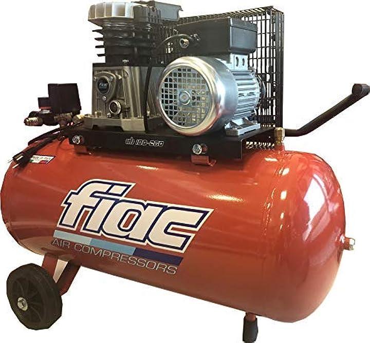Compressore d`aria con trasmissione a cinghia fiac ab 100-268 m` 1483005000