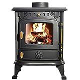 Lincsfire Saxilby JA013 6.5KW Multifuel Woodburning Stove
