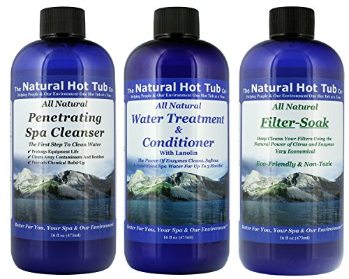 The Natural HOT TUB Company All Natural Start UP KIT SPA Treatment It's The Natural Solution.