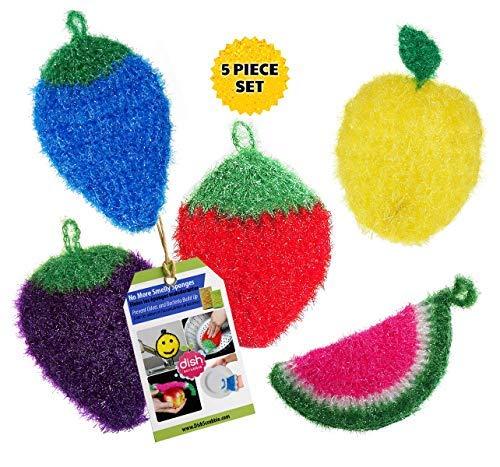 crochet scrubber - 2