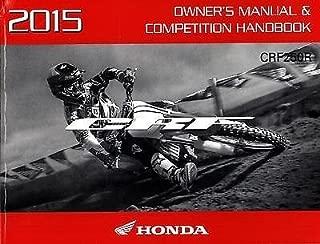 Best 2015 honda crf250r owner's manual Reviews
