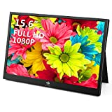 Z-Edge Tragbarer Monitor USB Typ-C Portable Monitor 15,6 Zoll IPS Bildschirm 1920x1080...