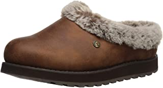 BOBS Women's Keepsakes-R E M Wide Width Faux Fur Lined Shootie with Memory Foam Slipper