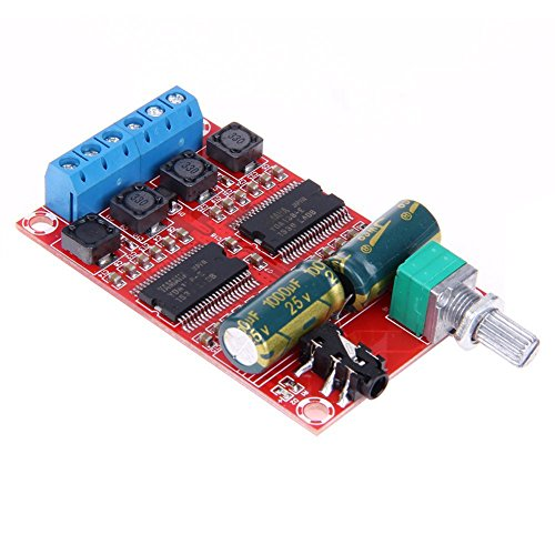 DollaTek 2x20W 12V Digital HiFi Audio Stereo YDA138-E Class-D Verstärker Board