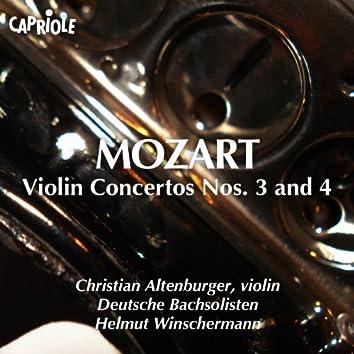 Mozart, W.A.: Violin Concertos Nos. 3 and 4