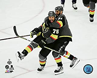 Ryan Reaves & Pierre-Edouard 2018 Vegas Golden Knights Stanley Cup Photo (Size: 8
