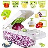 Vegetable Chopper - Onion Chopper, 14PCS Professional Food Chopper Vegetable Dicer, Mandoline...