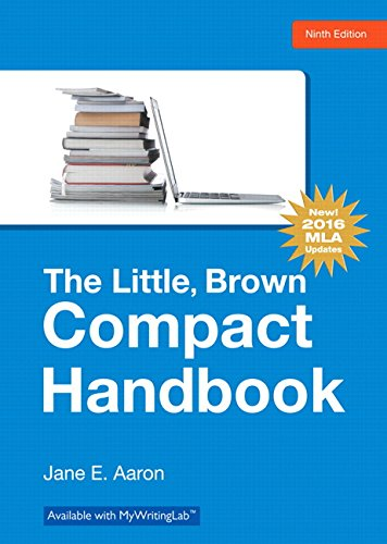 Little, Brown, Compact Handbook, The, MLA Update Edition (9th Edition)