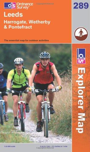 OS Explorer map 289 : Leeds