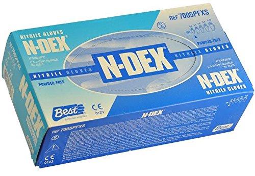 Best - N-DEX Original Nitrile, Powder Free - Box Size Large