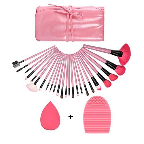 GUSODOR Make-up Pinsel Set 24 Stücke Multifunktions Kosmetik Set Schmink Pinselset für Puder und...
