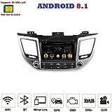 ANDROID 8.1 4G LTE GPS DVD USB SD WI-FI Bluetooth autoradio 2 DIN navigatore Hyundai Tucson/Hyundai IX35 2015, 2016, 2017