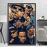 tgbhujk Poster Biggie Notorious 2PAC Jay-Z NWA Legende