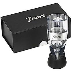 Zazzol Wine Aerator Decanter - Multi Stage Design with Gift Box