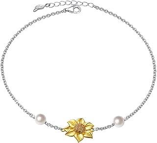 Best sunflower ankle bracelet Reviews