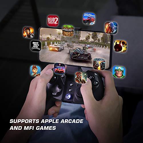 GameSir G4 Proワイヤレスゲーミングコントローラー iOS/Android/PC/Switch用コントローラー Type-C USBポートapple arcade、MFI、Steamゲーム対応ゲームパッド