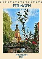 ETTLINGEN (Tischkalender 2022 DIN A5 hoch): Ein sommerlicher Rundgang durch die schoene Stadt Ettlingen (Monatskalender, 14 Seiten )