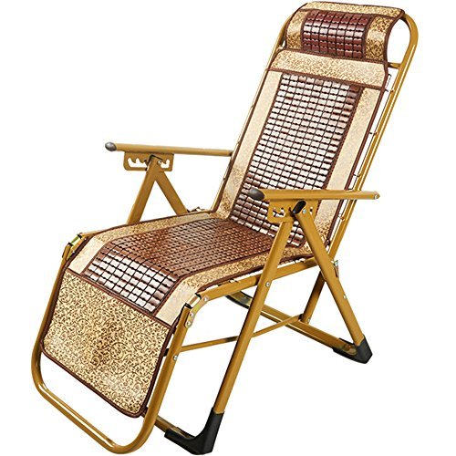 SunLoungers SONNENLIEGEN Feifei Zero Gravity Terrasse Lounge Sessel Oversize 5Ebenen verstellbar Liege mit Kopfstütze Matte Unterstützung 160kg klappbar C 5 Levels Adjustable