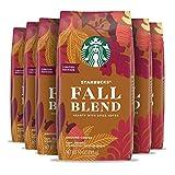 Starbucks Medium Roast Ground Coffee — Fall Blend — 100% Arabica — 6 bags (10 oz. each)